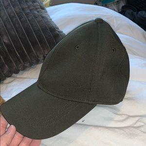 Army green lulu lemon baseball hat